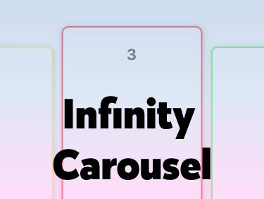 Swift4】UICollectionViewを使ってカルーセルを実装してみた。【無限